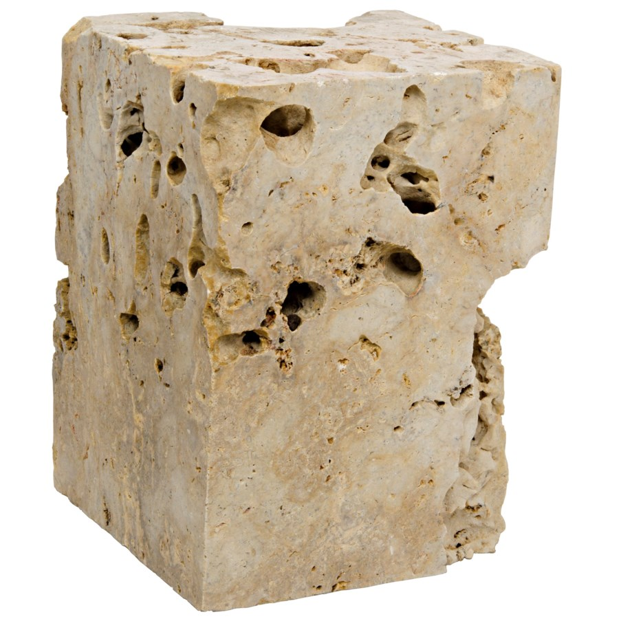 Cheese Stone Side Table/Stool