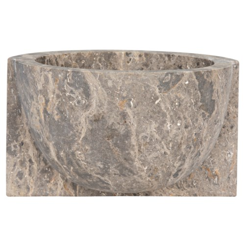 Z Kuno Bowl, Black Marble