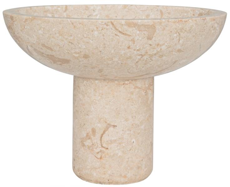 Tibby Bowl, White Marble