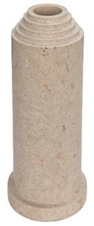 Pat Vase, White Marble
