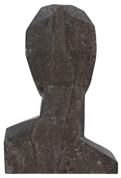 Abrasiv Sculpture, Black Marble