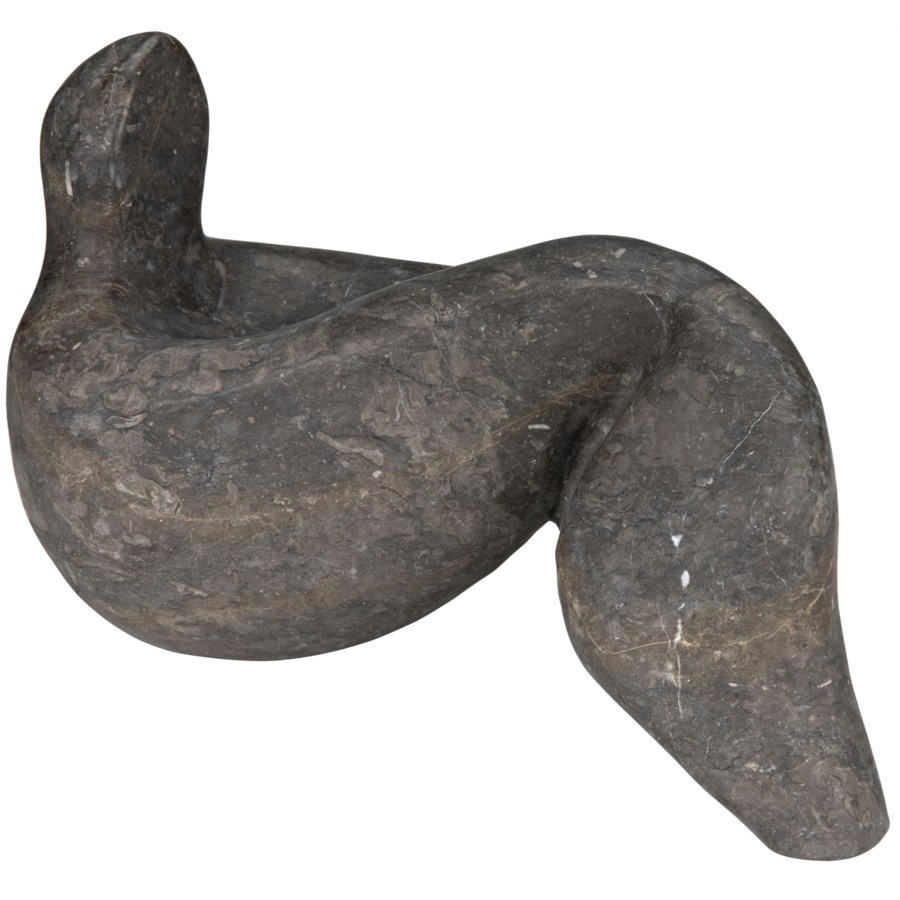Maggia Sculpture, Black Marble