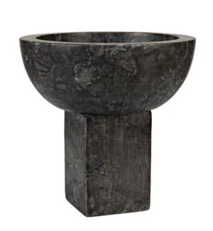 Zeta Bowl, Black Marble