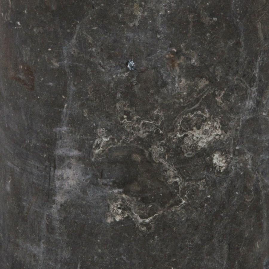 Verona Flower Pot, Black Marble