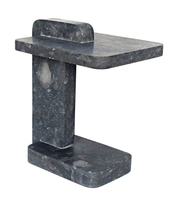 North Side Table, Black Marble