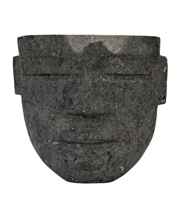 Moore Hanging Mask, Black Marble
