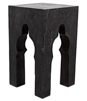 Navalny Side Table, Black Marble