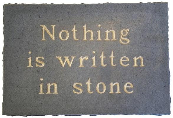 Written In Stone, Stone