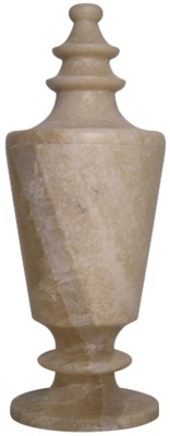 Onyx Vessel, Ridged Top