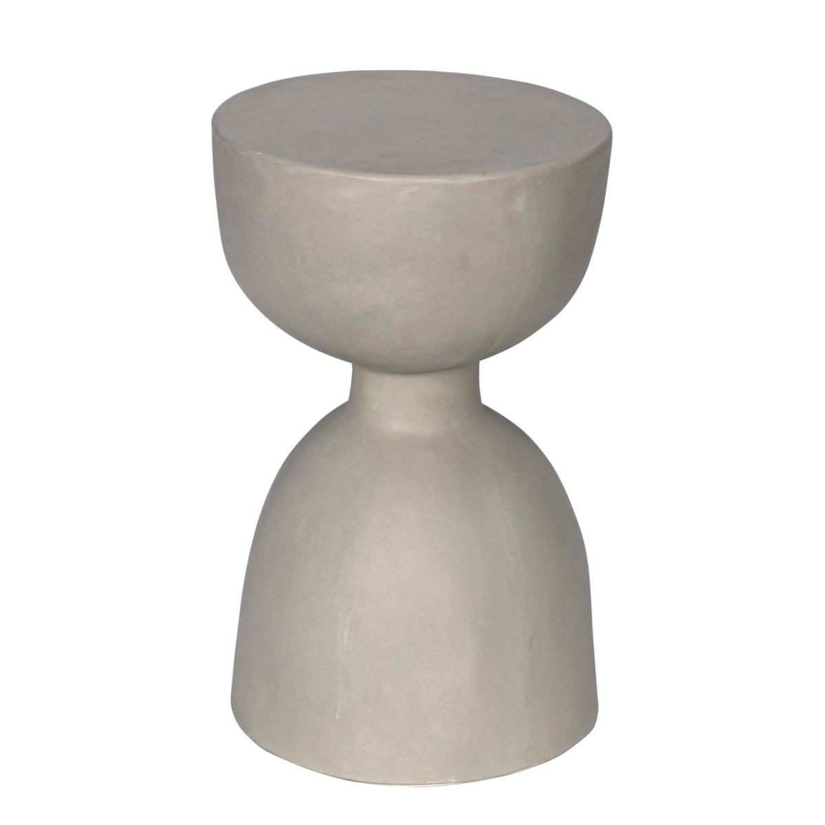 Hourglass Stool, Fiber Cement