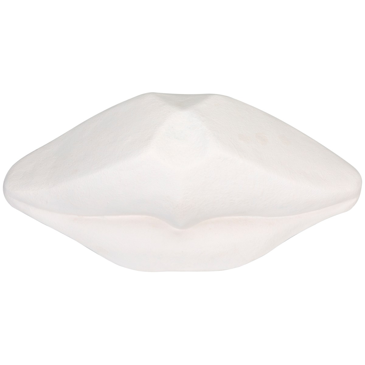 Lips, White Fiber Cement