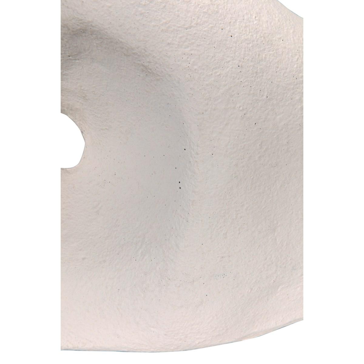 Calatrava Object, White Fiber Cement