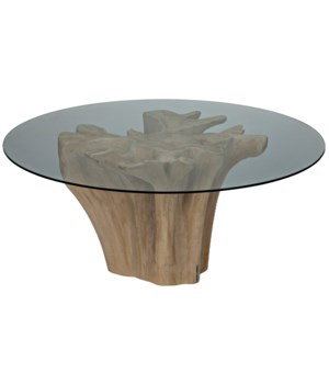 Bonsai Table with Glass Top