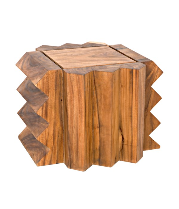 Watson Accent Low Table/Stool, Munggur Wood