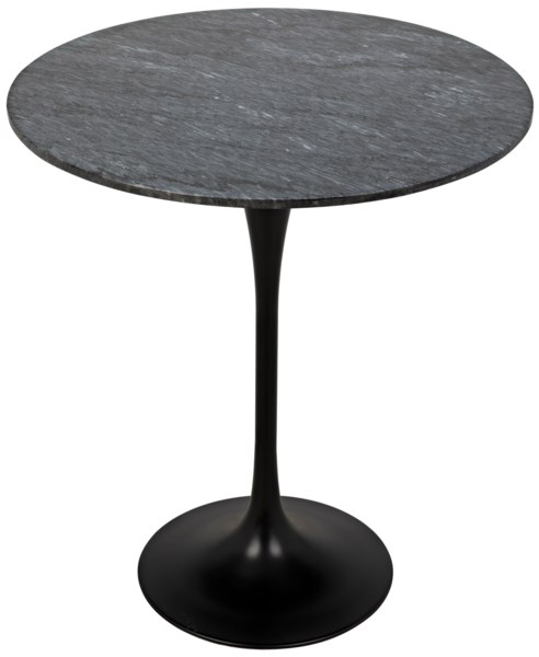 "Laredo Bar Table 36"", Black Stone Top"