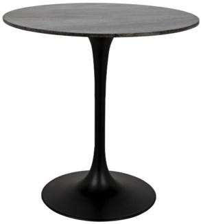 "Laredo Bar Table 40"", Black Stone Top"
