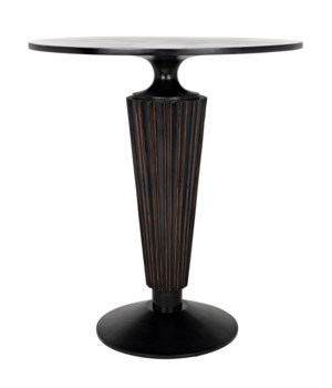 Gibraltar Bar Table, HB w/Light Brown Trim