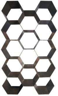 Bee Hive Bookcase, Metal