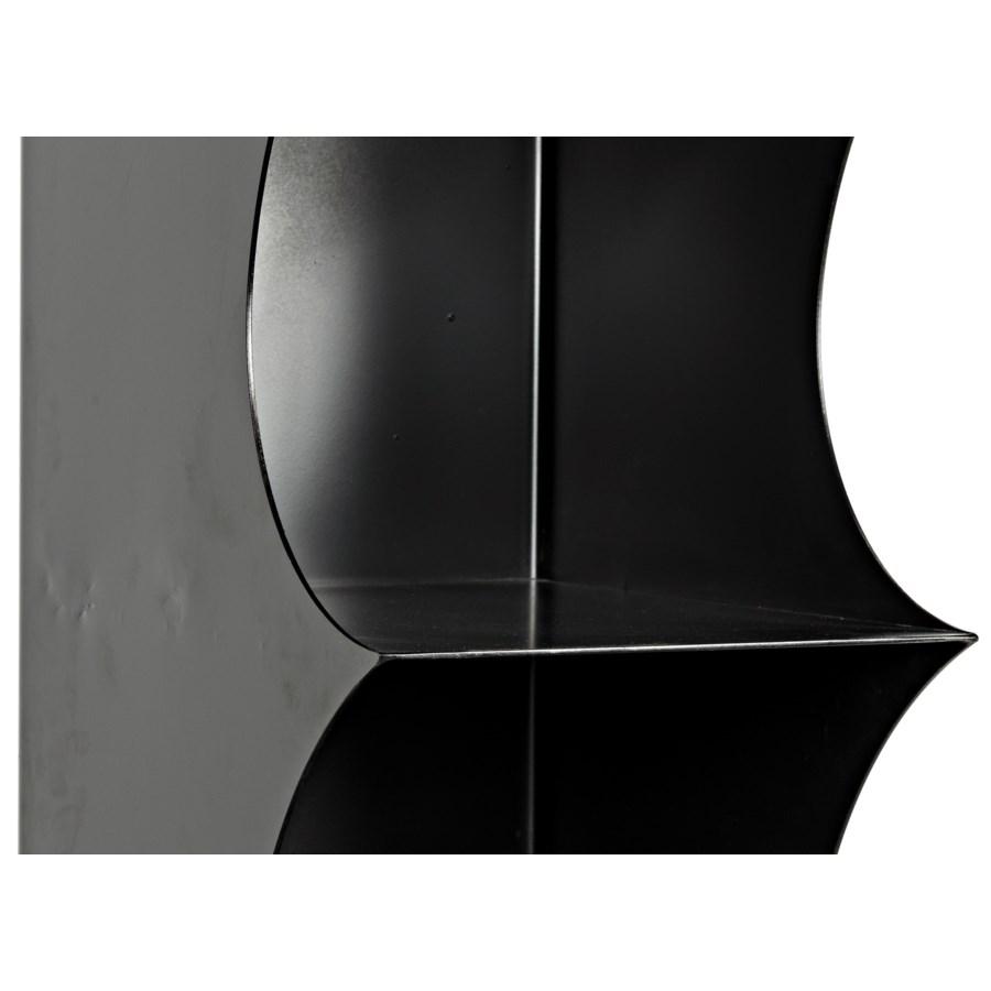 Blade Black Metal Shelf