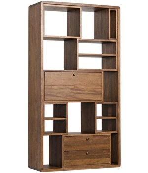 Norman Bookcase, Dark Walnut