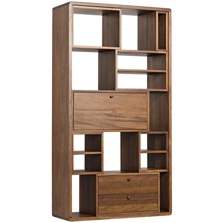 Norman Bookcase, Dark Walnut
