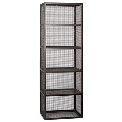 Perpendicular Bookcase, Metal