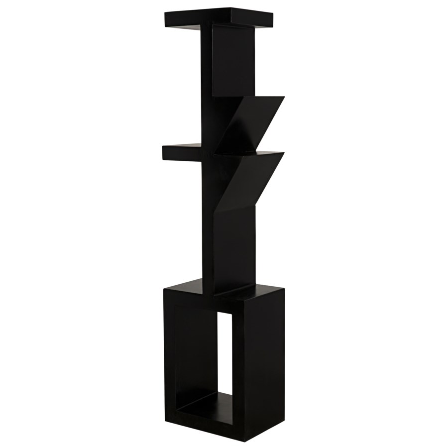 Dee Bookcase, Black Metal