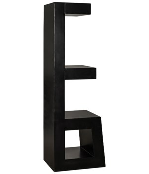Doo Bookcase, Black Metal