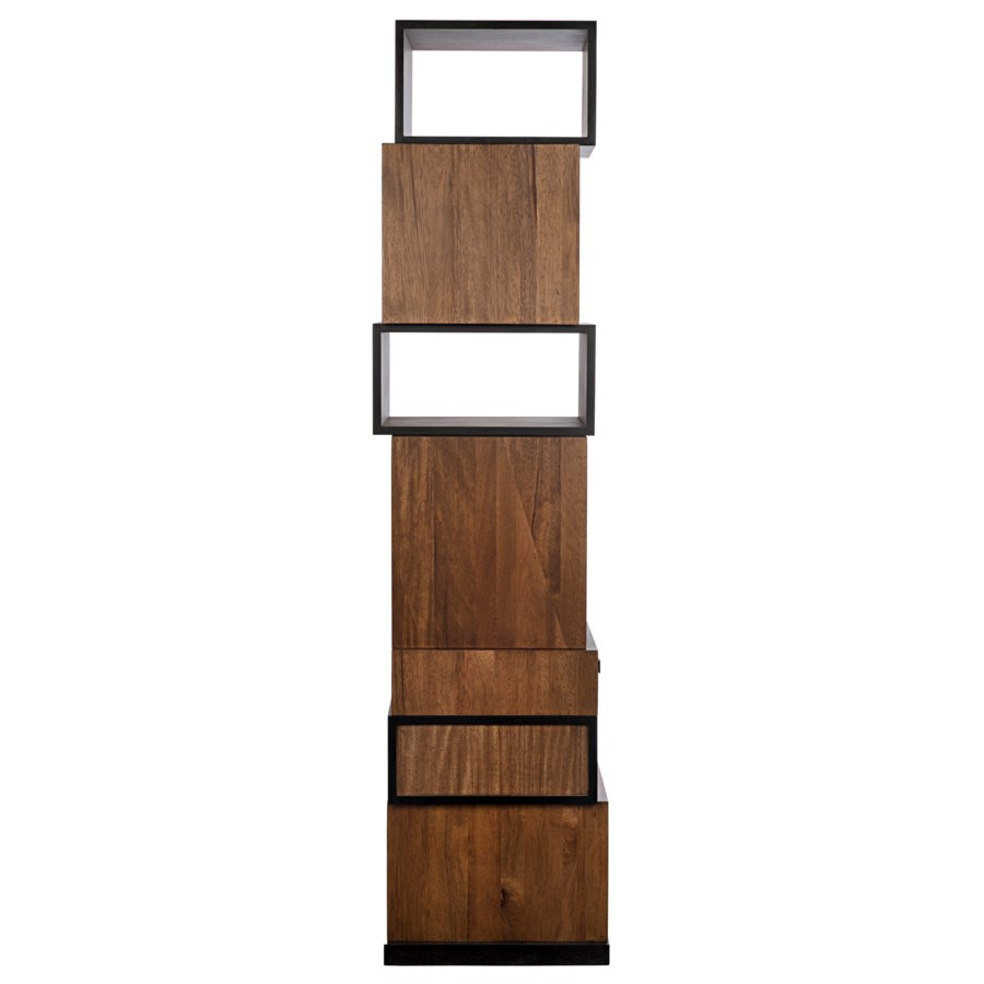 Baron Bookcase, Dark Walnut