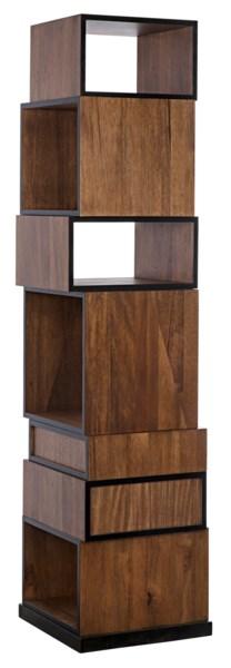 Baron Bookcase, Dark Walnut