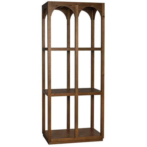 Arco Shelf, Dark Walnut