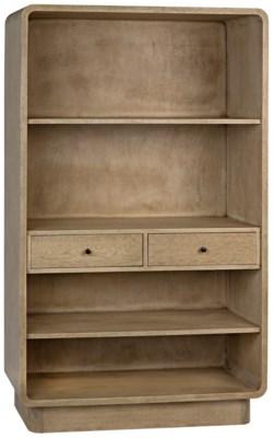 Cortes Bookcase, Bleached Walnut