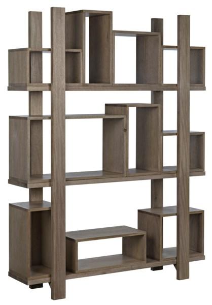 Corint Bookcase, Washed Walnut