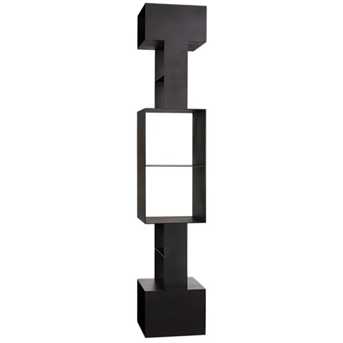 Diem Bookcase, Black Metal