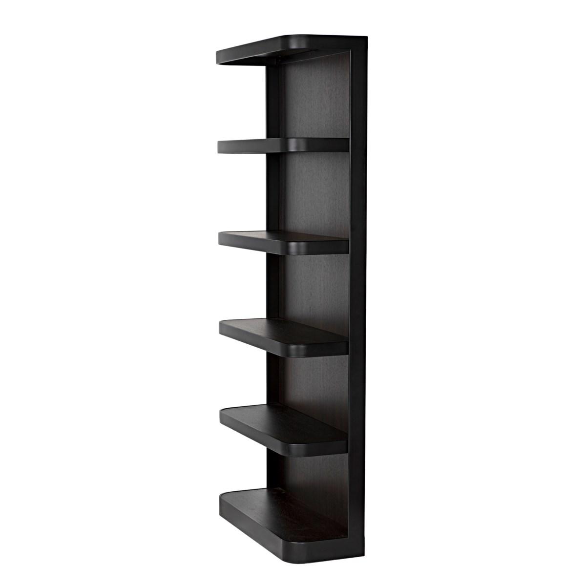 Dido Bookcase, Black Metal