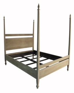 Venice Bed, CA King, Weathered