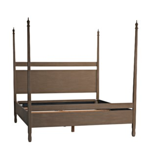 Venice Bed, Eastern King, Weathered