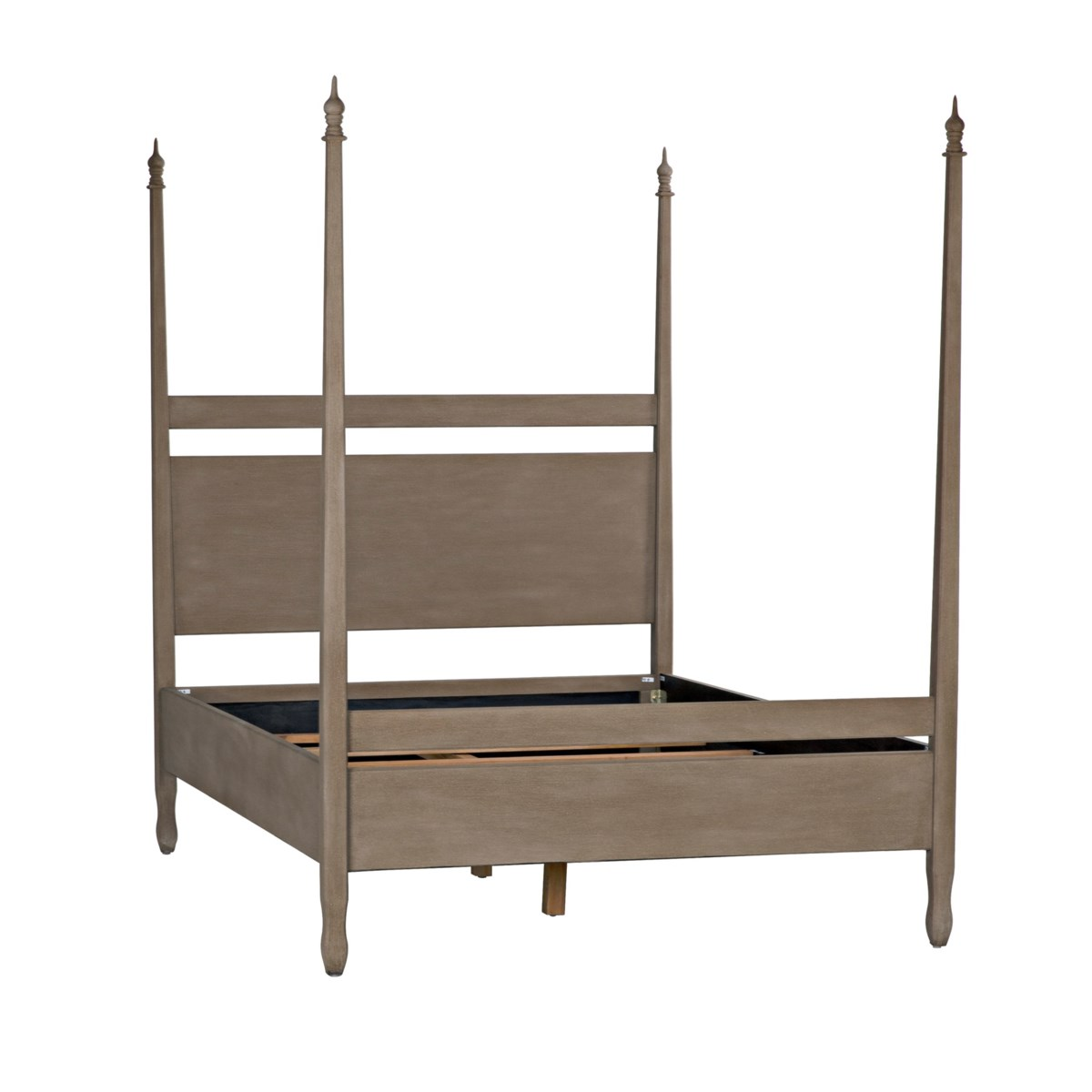 Venice Bed, Queen, Weathered