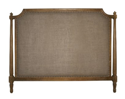 Isabelle Headboard, Eastern King, Grey Wash