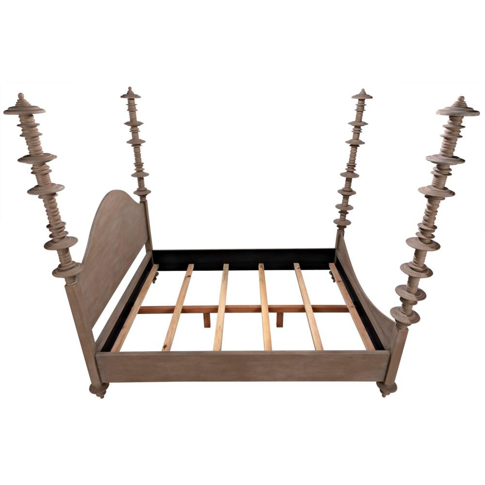 Ferret Bed, Queen, Weathered