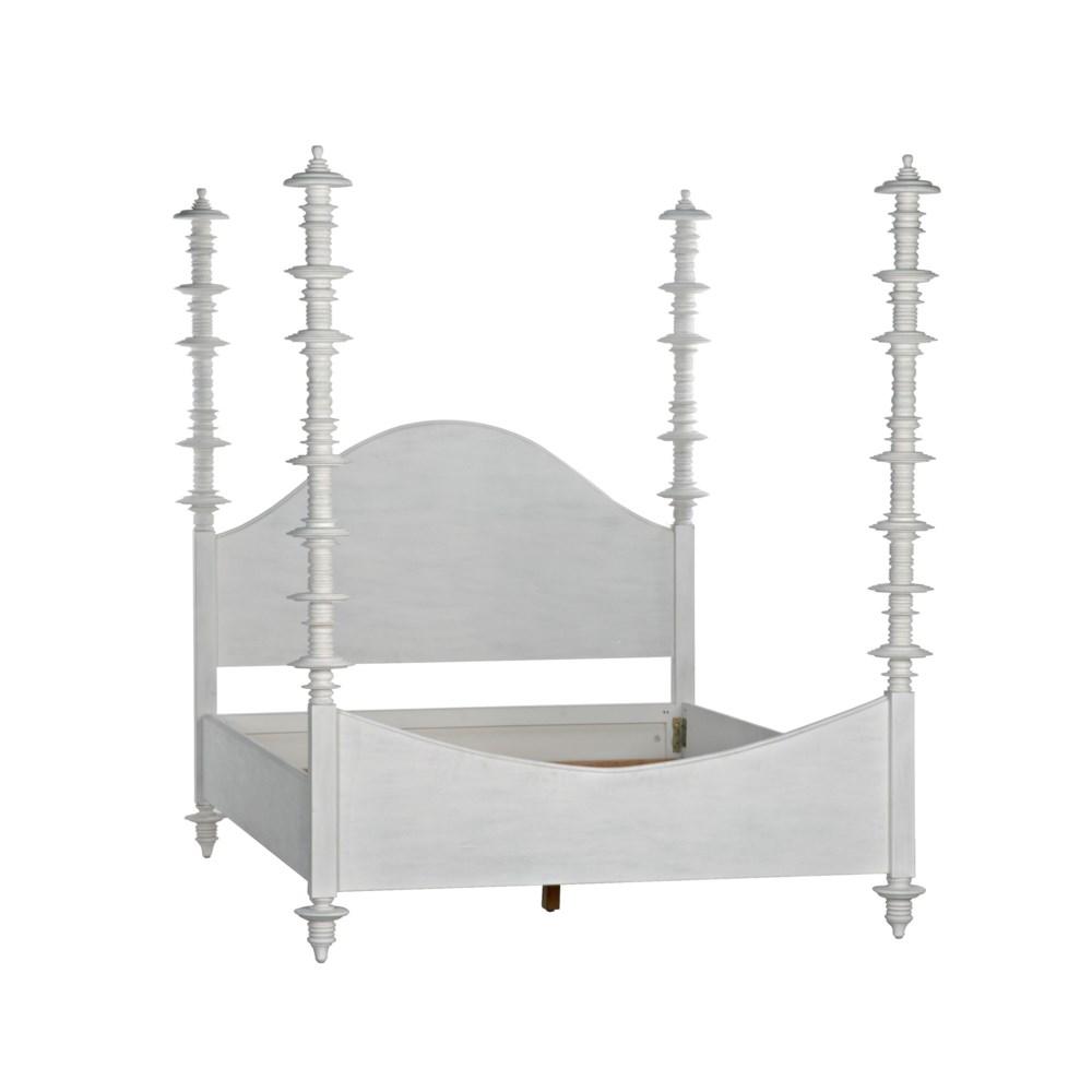 Ferret Bed, Queen, White Wash