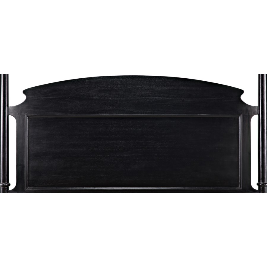 New Douglas Bed, Eastern King, Hand Rubbed Black