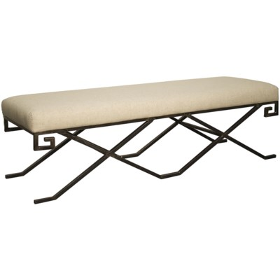 Ming Bench, Metal
