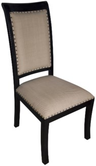 Henry Side Chair, Hand Rubbed Black