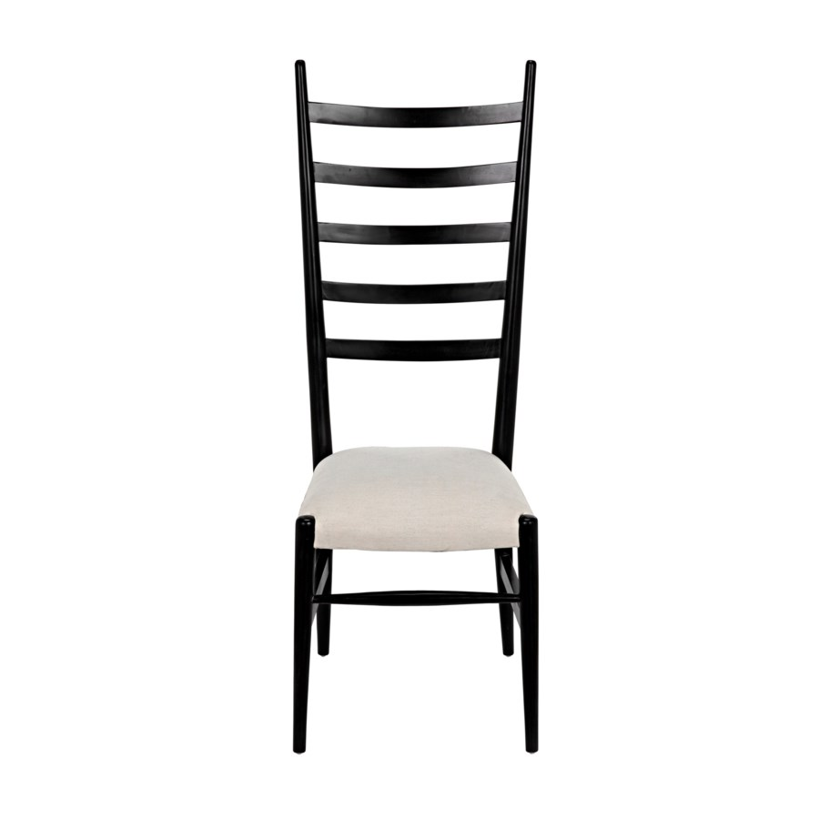 Ladder Chair, Hand Rubbed Black