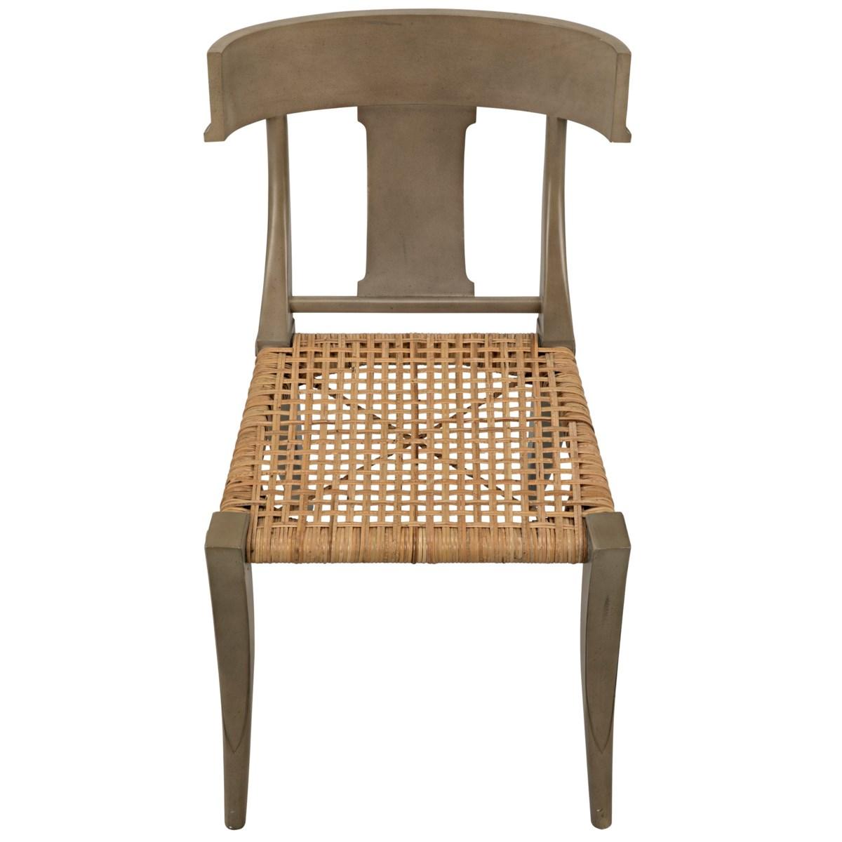 Layton Chair with Rattan, Dusk