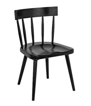 Esme Chair, Hand Rubbed Black