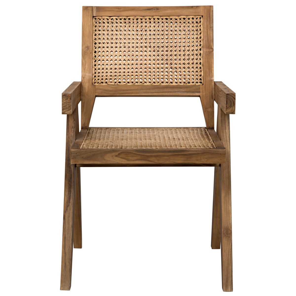 Jude Chair with Caning, Teak