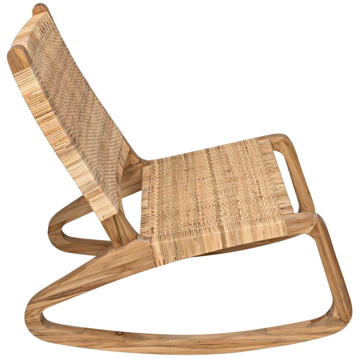 Las Palmas Chair, Teak with Woven