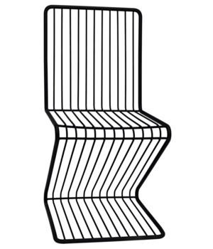 Twiggy Chair, Black Metal